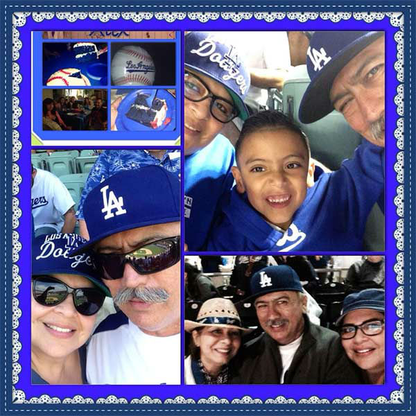 Show us your Dodger love! Post your fan photos on our ABC7 Facebook page, and you might be featured on-air. You can also send us your photos on Twitter or Instagram with #abc7dodgers. LET&#39;S GO DODGERS! <span class=meta>(KABC Photo &#47; Debbie Vasquez Moreno)</span>