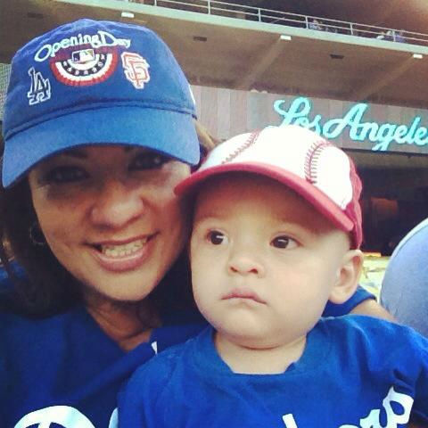 Show us your Dodger love! Post your fan photos on our ABC7 Facebook page, and you might be featured on-air. You can also send us your photos on Twitter or Instagram with #abc7dodgers. LET&#39;S GO DODGERS! <span class=meta>(KABC Photo &#47; Eileen Nancy Flores)</span>