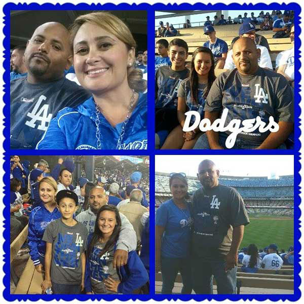 "<div class=""meta ""><span class=""caption-text "">Show us your Dodger love! Post your fan photos on our ABC7 Facebook page, and you might be featured on-air. You can also send us your photos on Twitter or Instagram with #abc7dodgers. LET'S GO DODGERS! (KABC Photo / Erika Verenice Araujo)</span></div>"