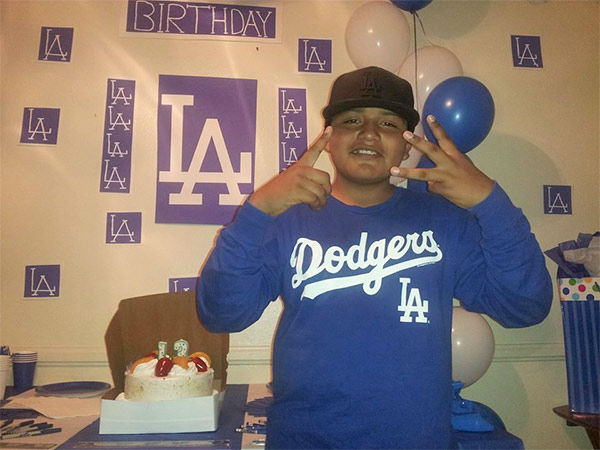 "<div class=""meta ""><span class=""caption-text "">Show us your Dodger love! Post your fan photos on our ABC7 Facebook page, and you might be featured on-air. You can also send us your photos on Twitter or Instagram with #abc7dodgers. LET'S GO DODGERS! (KABC Photo / Francisco Hernandez)</span></div>"