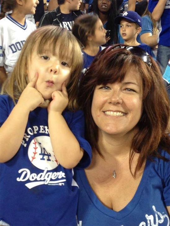 Show us your Dodger love! Post your fan photos on our ABC7 Facebook page, and you might be featured on-air. You can also send us your photos on Twitter or Instagram with #abc7dodgers. LET&#39;S GO DODGERS! <span class=meta>(KABC Photo &#47; Heather Hegle)</span>
