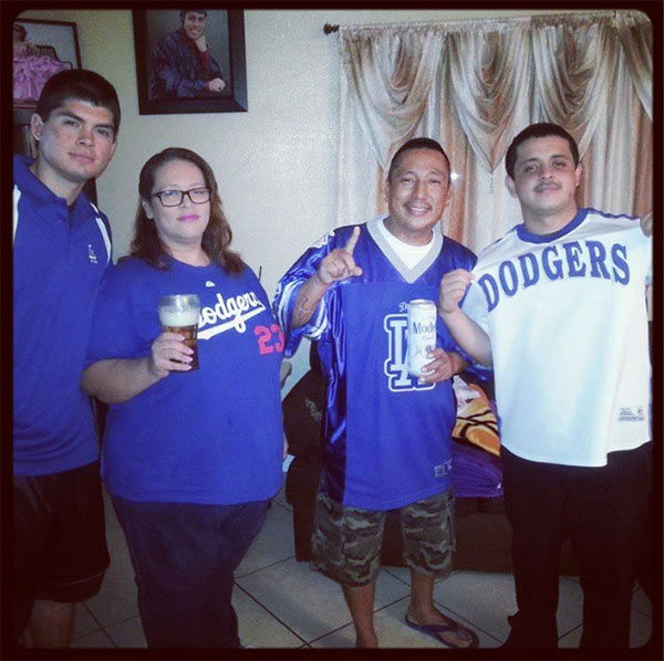 Show us your Dodger love! Post your fan photos on our ABC7 Facebook page, and you might be featured on-air. You can also send us your photos on Twitter or Instagram with #abc7dodgers. LET&#39;S GO DODGERS! <span class=meta>(KABC Photo &#47; Instagram.com&#47;la_mendez)</span>