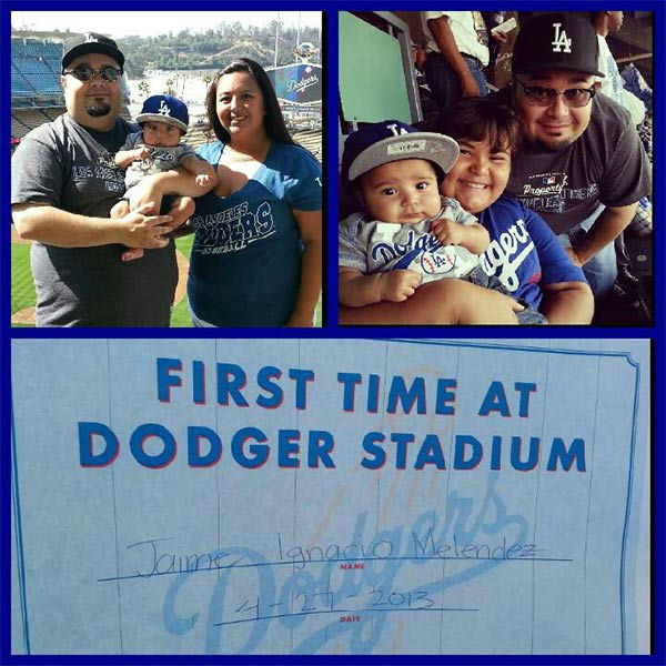 "<div class=""meta ""><span class=""caption-text "">Show us your Dodger love! Post your fan photos on our ABC7 Facebook page, and you might be featured on-air. You can also send us your photos on Twitter or Instagram with #abc7dodgers. LET'S GO DODGERS! (KABC Photo / Isabel Melendez)</span></div>"