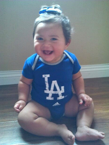 Show us your Dodger love! Post your fan photos on our ABC7 Facebook page, and you might be featured on-air. You can also send us your photos on Twitter or Instagram with #abc7dodgers. LET&#39;S GO DODGERS! <span class=meta>(KABC Photo &#47; Jasmine Rosales)</span>