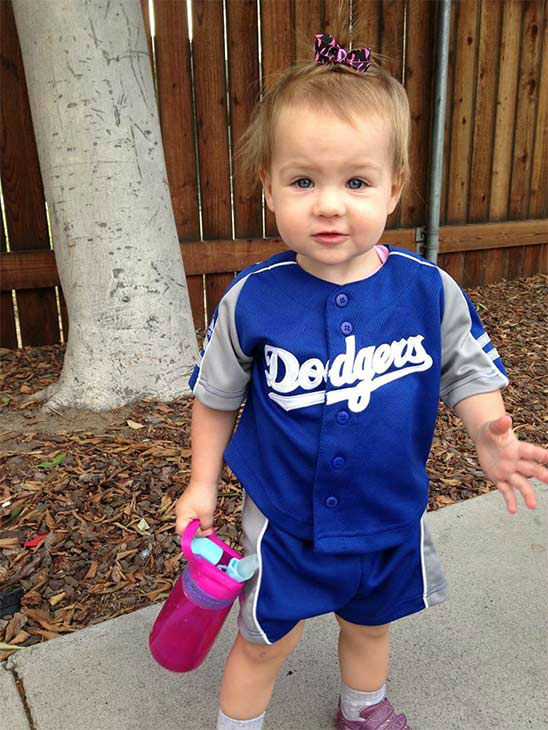 "<div class=""meta ""><span class=""caption-text "">Show us your Dodger love! Post your fan photos on our ABC7 Facebook page, and you might be featured on-air. You can also send us your photos on Twitter or Instagram with #abc7dodgers. LET'S GO DODGERS! (KABC Photo / Jeannine Pearce)</span></div>"