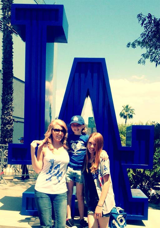 "<div class=""meta ""><span class=""caption-text "">Show us your Dodger love! Post your fan photos on our ABC7 Facebook page, and you might be featured on-air. You can also send us your photos on Twitter or Instagram with #abc7dodgers. LET'S GO DODGERS! (KABC Photo / Jenn O'Connor)</span></div>"