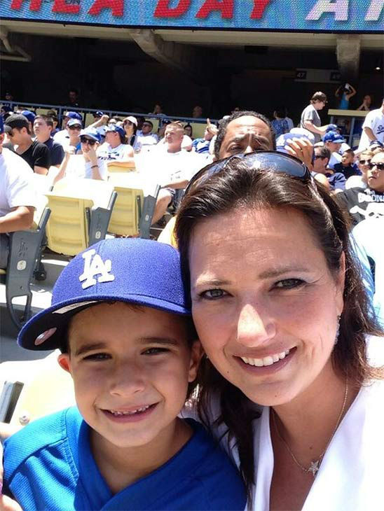 Show us your Dodger love! Post your fan photos on our ABC7 Facebook page, and you might be featured on-air. You can also send us your photos on Twitter or Instagram with #abc7dodgers. LET&#39;S GO DODGERS! <span class=meta>(KABC Photo &#47; Jennifer Baker)</span>