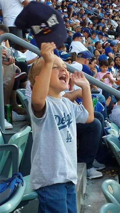 Show us your Dodger love! Post your fan photos on our ABC7 Facebook page, and you might be featured on-air. You can also send us your photos on Twitter or Instagram with #abc7dodgers. LET&#39;S GO DODGERS! <span class=meta>(KABC Photo &#47; Jennifer Nicastro)</span>