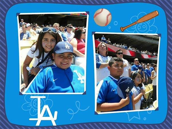 "<div class=""meta ""><span class=""caption-text "">Show us your Dodger love! Post your fan photos on our ABC7 Facebook page, and you might be featured on-air. You can also send us your photos on Twitter or Instagram with #abc7dodgers. LET'S GO DODGERS! (KABC Photo / Johana Pena)</span></div>"