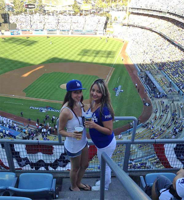 Show us your Dodger love! Post your fan photos on our ABC7 Facebook page, and you might be featured on-air. You can also send us your photos on Twitter or Instagram with #abc7dodgers. LET&#39;S GO DODGERS! <span class=meta>(KABC Photo &#47; Johanna Silva)</span>
