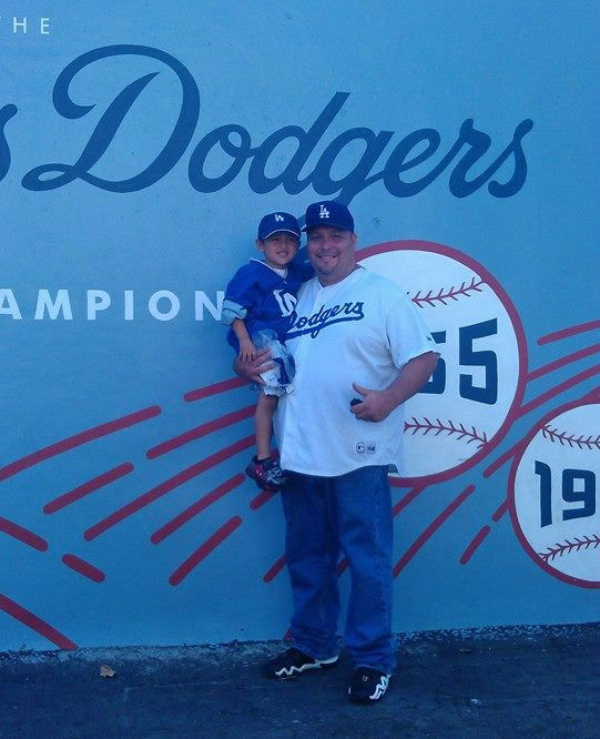 "<div class=""meta ""><span class=""caption-text "">Show us your Dodger love! Post your fan photos on our ABC7 Facebook page, and you might be featured on-air. You can also send us your photos on Twitter or Instagram with #abc7dodgers. LET'S GO DODGERS! (KABC Photo / Manuel Frias)</span></div>"
