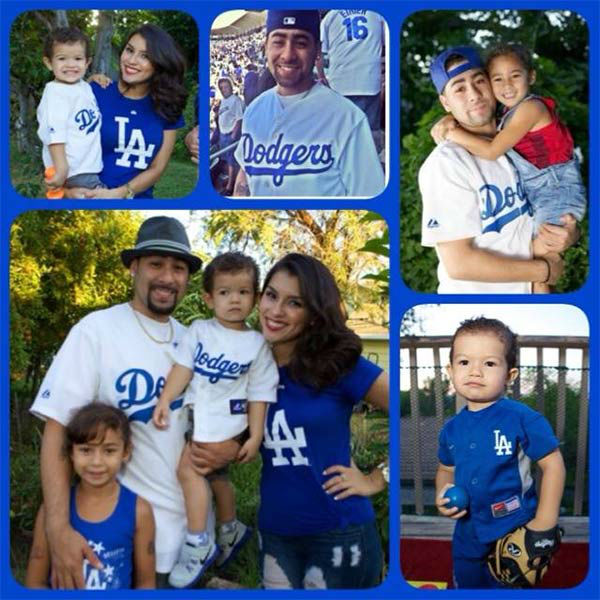 Show us your Dodger love! Post your fan photos on our ABC7 Facebook page, and you might be featured on-air. You can also send us your photos on Twitter or Instagram with #abc7dodgers. LET&#39;S GO DODGERS! <span class=meta>(KABC Photo &#47; Margarita Hansen)</span>