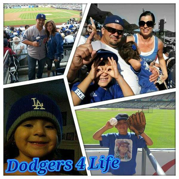 Show us your Dodger love! Post your fan photos on our ABC7 Facebook page, and you might be featured on-air. You can also send us your photos on Twitter or Instagram with #abc7dodgers. LET&#39;S GO DODGERS! <span class=meta>(KABC Photo &#47; Martin Alvarez)</span>