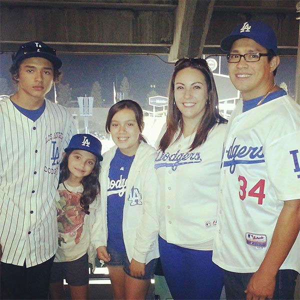 Show us your Dodger love! Post your fan photos on our ABC7 Facebook page, and you might be featured on-air. You can also send us your photos on Twitter or Instagram with #abc7dodgers. LET&#39;S GO DODGERS! <span class=meta>(KABC Photo &#47; Nelida Pelayo)</span>