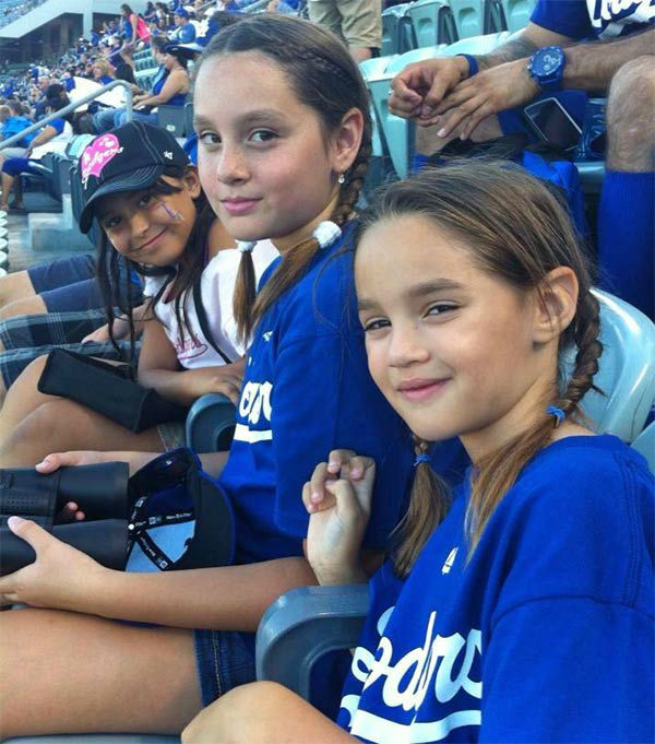 Show us your Dodger love! Post your fan photos on our ABC7 Facebook page, and you might be featured on-air. You can also send us your photos on Twitter or Instagram with #abc7dodgers. LET&#39;S GO DODGERS! <span class=meta>(KABC Photo &#47; Nora Mercado Burr)</span>