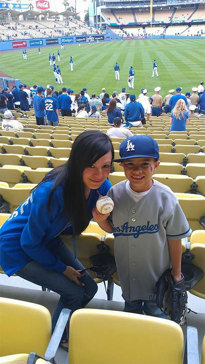 "<div class=""meta ""><span class=""caption-text "">Show us your Dodger love! Post your fan photos on our ABC7 Facebook page, and you might be featured on-air. You can also send us your photos on Twitter or Instagram with #abc7dodgers. LET'S GO DODGERS! (KABC Photo / Ramona Ortega)</span></div>"