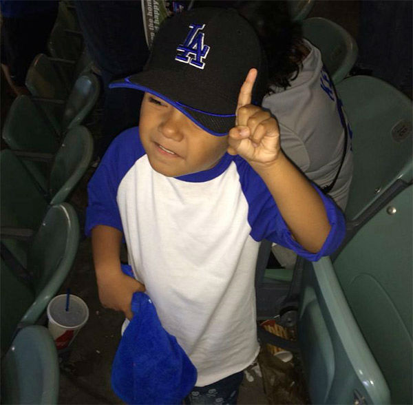 "<div class=""meta ""><span class=""caption-text "">Show us your Dodger love! Post your fan photos on our ABC7 Facebook page, and you might be featured on-air. You can also send us your photos on Twitter or Instagram with #abc7dodgers. LET'S GO DODGERS! (KABC Photo / Rojelio Vega)</span></div>"