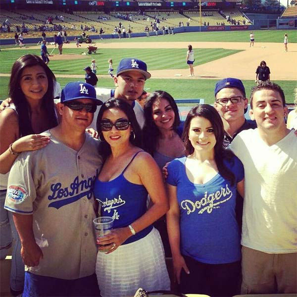 "<div class=""meta ""><span class=""caption-text "">Show us your Dodger love! Post your fan photos on our ABC7 Facebook page, and you might be featured on-air. You can also send us your photos on Twitter or Instagram with #abc7dodgers. LET'S GO DODGERS! (KABC Photo / Ruby Camacho Delgado)</span></div>"