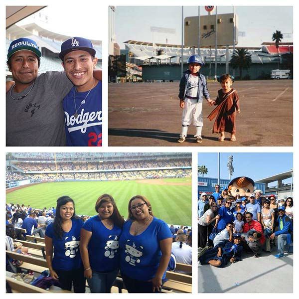 Show us your Dodger love! Post your fan photos on our ABC7 Facebook page, and you might be featured on-air. You can also send us your photos on Twitter or Instagram with #abc7dodgers. LET&#39;S GO DODGERS! <span class=meta>(KABC Photo &#47; Soledad Luis Jimenez)</span>