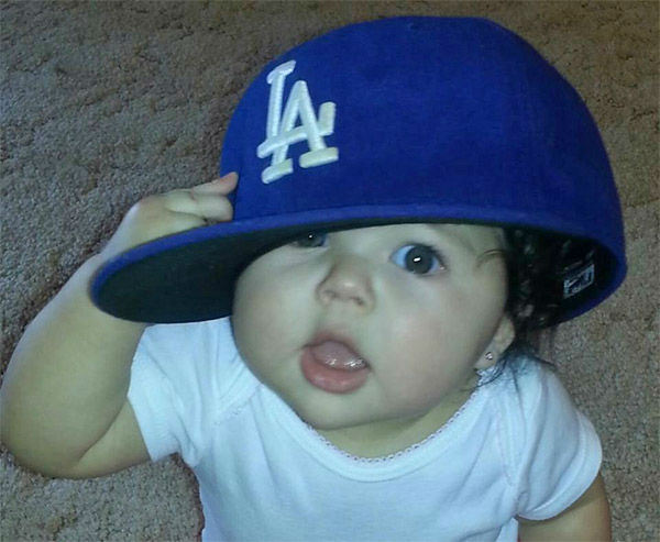 Show us your Dodger love! Post your fan photos on our ABC7 Facebook page, and you might be featured on-air. You can also send us your photos on Twitter or Instagram with #abc7dodgers. LET&#39;S GO DODGERS! <span class=meta>(KABC Photo &#47; Sophie Perez Serrano)</span>