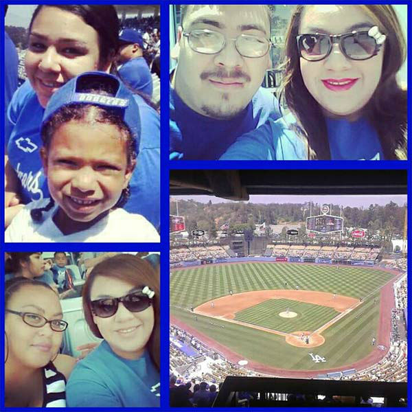 Show us your Dodger love! Post your fan photos on our ABC7 Facebook page, and you might be featured on-air. You can also send us your photos on Twitter or Instagram with #abc7dodgers. LET&#39;S GO DODGERS! <span class=meta>(KABC Photo &#47; Tabitha Marie)</span>