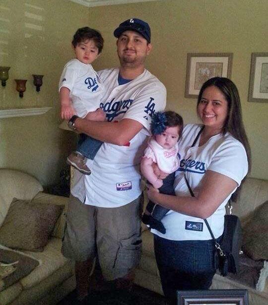 "<div class=""meta ""><span class=""caption-text "">Show us your Dodger love! Post your fan photos on our ABC7 Facebook page, and you might be featured on-air. You can also send us your photos on Twitter or Instagram with #abc7dodgers. LET'S GO DODGERS! (KABC Photo / Vanessa Rodriguez)</span></div>"