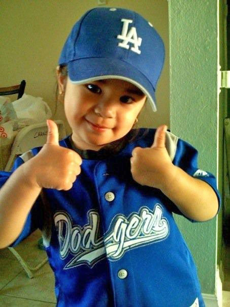 "<div class=""meta ""><span class=""caption-text "">Show us your Dodger love! Post your fan photos on our ABC7 Facebook page, and you might be featured on-air. You can also send us your photos on Twitter or Instagram with #abc7dodgers. LET'S GO DODGERS! (KABC Photo / Arliene Chang)</span></div>"