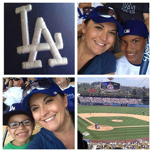 "<div class=""meta ""><span class=""caption-text "">Show us your Dodger love! Post your fan photos on our ABC7 Facebook page, and you might be featured on-air. You can also send us your photos on Twitter or Instagram with #abc7dodgers. LET'S GO DODGERS! (KABC Photo / Denise Cardona)</span></div>"