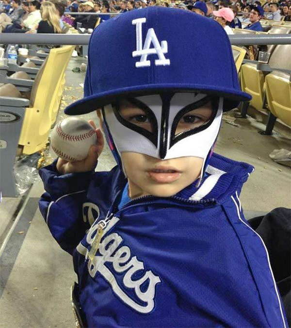 "<div class=""meta ""><span class=""caption-text "">Show us your Dodger love! Post your fan photos on our ABC7 Facebook page, and you might be featured on-air. You can also send us your photos on Twitter or Instagram with #abc7dodgers. LET'S GO DODGERS! (KABC Photo / Rick Pinon)</span></div>"