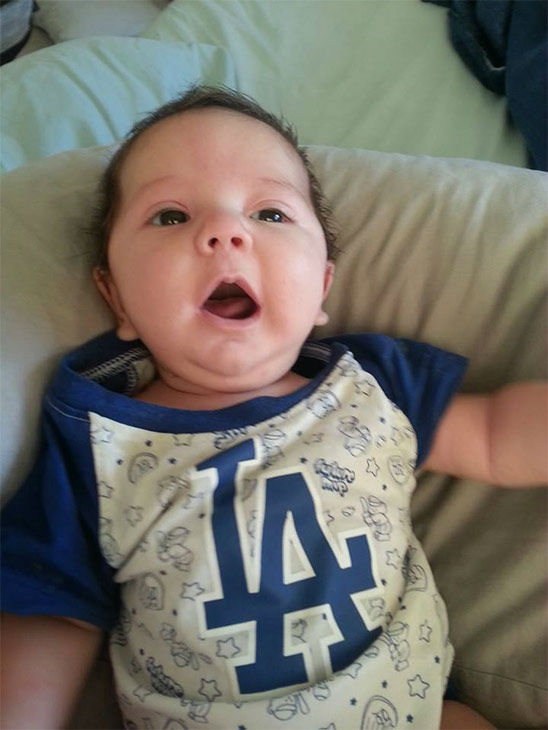"<div class=""meta ""><span class=""caption-text "">Show us your Dodger love! Post your fan photos on our ABC7 Facebook page, and you might be featured on-air. You can also send us your photos on Twitter or Instagram with #abc7dodgers. LET'S GO DODGERS! (KABC Photo / Amber Marin)</span></div>"