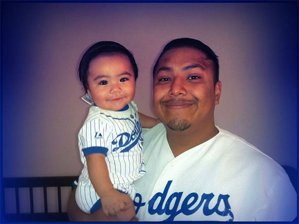 "<div class=""meta ""><span class=""caption-text "">Show us your Dodger love! Post your fan photos on our ABC7 Facebook page, and you might be featured on-air. You can also send us your photos on Twitter or Instagram with #abc7dodgers. LET'S GO DODGERS! (KABC Photo / Cesar Gonzales)</span></div>"