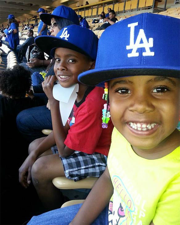 Show us your Dodger love! Post your fan photos on our ABC7 Facebook page, and you might be featured on-air. You can also send us your photos on Twitter or Instagram with #abc7dodgers. LET&#39;S GO DODGERS! <span class=meta>(KABC Photo &#47; Consuela Johnson)</span>
