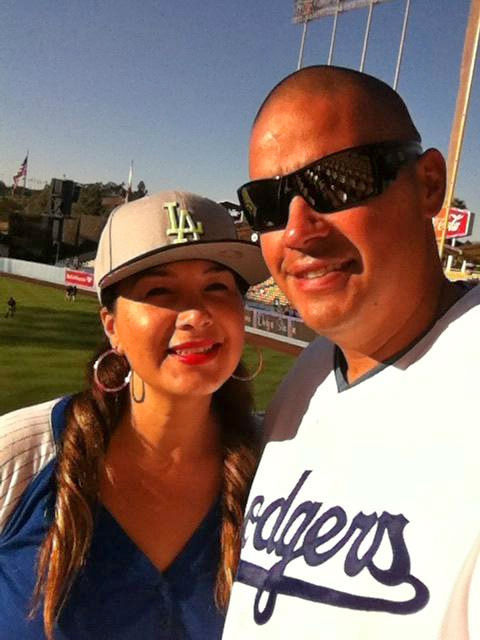 Show us your Dodger love! Post your fan photos on our ABC7 Facebook page, and you might be featured on-air. You can also send us your photos on Twitter or Instagram with #abc7dodgers. LET&#39;S GO DODGERS! <span class=meta>(KABC Photo &#47; Elena Munguia Lam)</span>