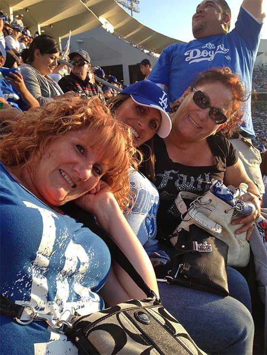 Show us your Dodger love! Post your fan photos on our ABC7 Facebook page, and you might be featured on-air. You can also send us your photos on Twitter or Instagram with #abc7dodgers. LET&#39;S GO DODGERS! <span class=meta>(KABC Photo &#47; Gracie Talamantez)</span>
