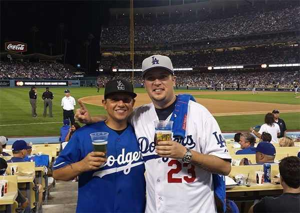 "<div class=""meta ""><span class=""caption-text "">Show us your Dodger love! Post your fan photos on our ABC7 Facebook page, and you might be featured on-air. You can also send us your photos on Twitter or Instagram with #abc7dodgers. LET'S GO DODGERS! (KABC Photo / Jimmy Reyes)</span></div>"