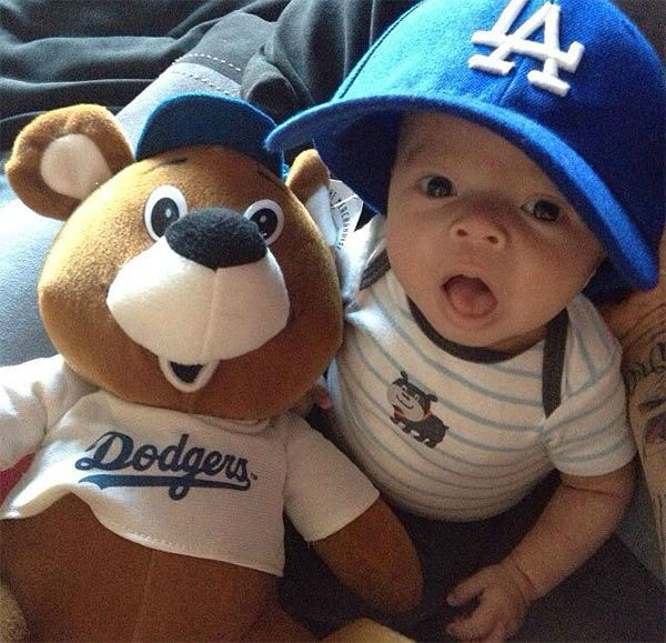 "<div class=""meta ""><span class=""caption-text "">Show us your Dodger love! Post your fan photos on our ABC7 Facebook page, and you might be featured on-air. You can also send us your photos on Twitter or Instagram with #abc7dodgers. LET'S GO DODGERS! (KABC Photo / Laurie Vasquez-Robinson)</span></div>"