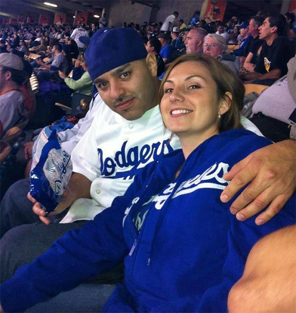 Show us your Dodger love! Post your fan photos on our ABC7 Facebook page, and you might be featured on-air. You can also send us your photos on Twitter or Instagram with #abc7dodgers. LET&#39;S GO DODGERS! <span class=meta>(KABC Photo &#47; Natalie and Manny Rubio)</span>