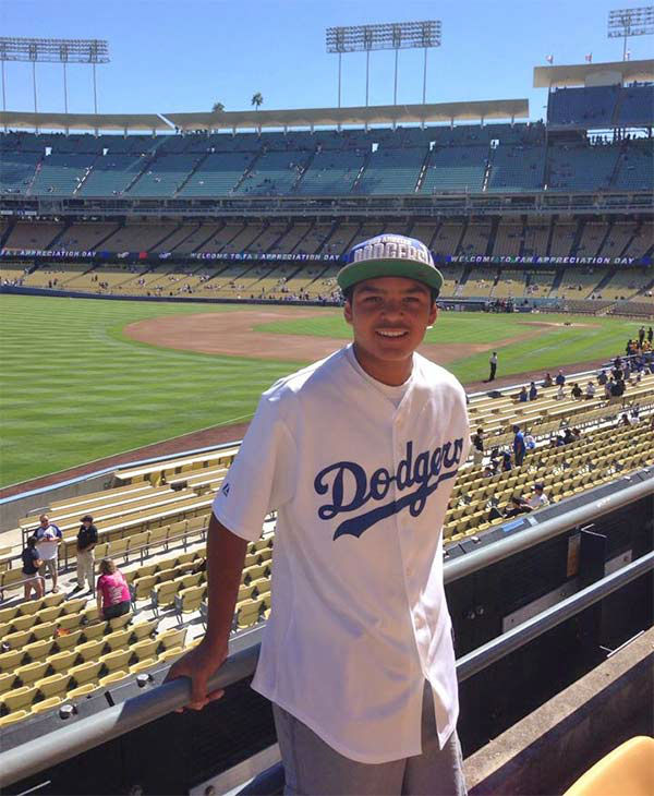 "<div class=""meta ""><span class=""caption-text "">Show us your Dodger love! Post your fan photos on our ABC7 Facebook page, and you might be featured on-air. You can also send us your photos on Twitter or Instagram with #abc7dodgers. LET'S GO DODGERS! (KABC Photo / Shelly Belmontes)</span></div>"