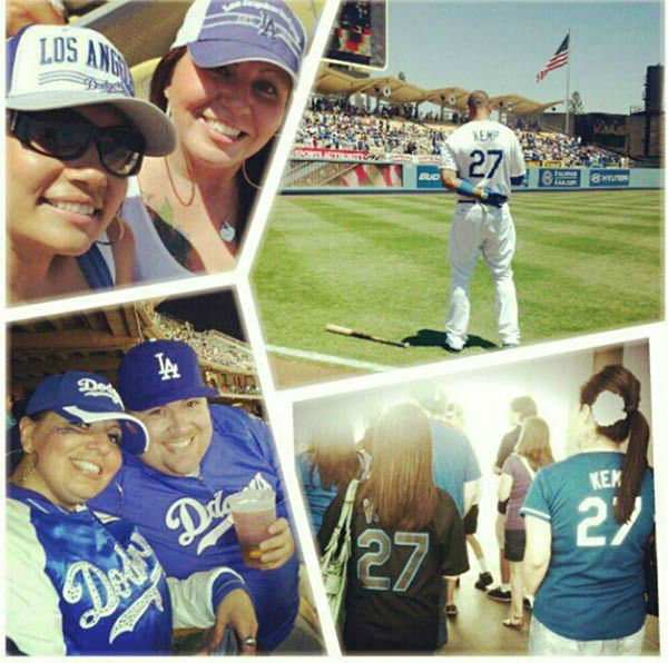 "<div class=""meta ""><span class=""caption-text "">Show us your Dodger love! Post your fan photos on our ABC7 Facebook page, and you might be featured on-air. You can also send us your photos on Twitter or Instagram with #abc7dodgers. LET'S GO DODGERS! (KABC Photo / Vanessa Perales)</span></div>"