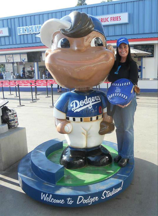 "<div class=""meta ""><span class=""caption-text "">Show us your Dodger love! Post your fan photos on our ABC7 Facebook page, and you might be featured on-air. You can also send us your photos on Twitter or Instagram with #abc7dodgers. LET'S GO DODGERS! (KABC Photo / @JJTheBagLady)</span></div>"