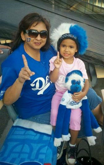 "<div class=""meta ""><span class=""caption-text "">Show us your Dodger love! Post your fan photos on our ABC7 Facebook page, and you might be featured on-air. You can also send us your photos on Twitter or Instagram with #abc7dodgers. LET'S GO DODGERS! (KABC Photo / @KempKrazy)</span></div>"