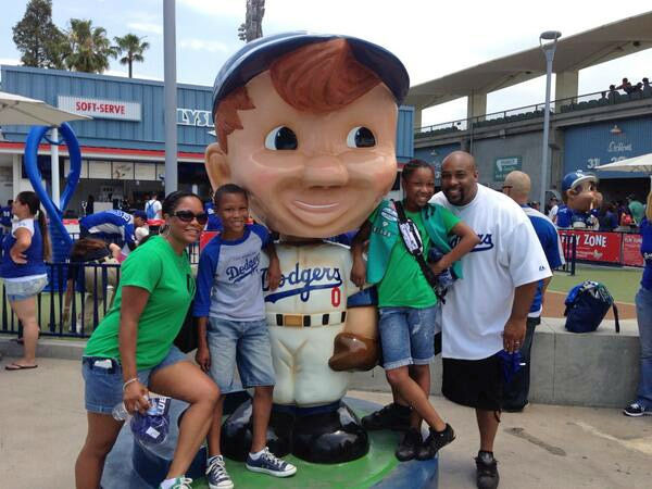 "<div class=""meta ""><span class=""caption-text "">Show us your Dodger love! Post your fan photos on our ABC7 Facebook page, and you might be featured on-air. You can also send us your photos on Twitter or Instagram with #abc7dodgers. LET'S GO DODGERS! (KABC Photo / RaDaniel McCoy)</span></div>"