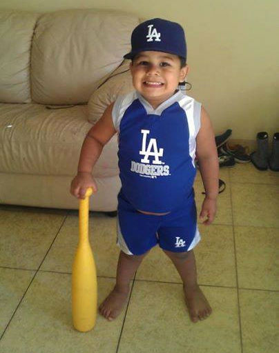 "<div class=""meta ""><span class=""caption-text "">Show us your Dodger love! Post your fan photos on our ABC7 Facebook page, and you might be featured on-air. You can also send us your photos on Twitter or Instagram with #abc7dodgers. LET'S GO DODGERS! (KABC Photo / Alex Lopez)</span></div>"