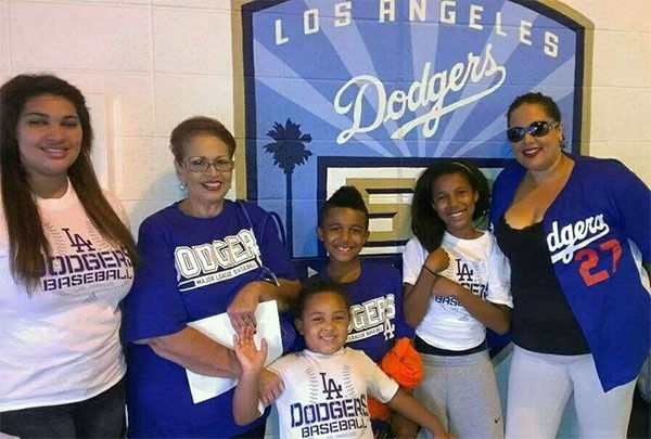 Show us your Dodger love! Post your fan photos on our ABC7 Facebook page, and you might be featured on-air. You can also send us your photos on Twitter or Instagram with #abc7dodgers. LET&#39;S GO DODGERS! <span class=meta>(KABC Photo &#47; Debbie Mendiaz Fortuna)</span>