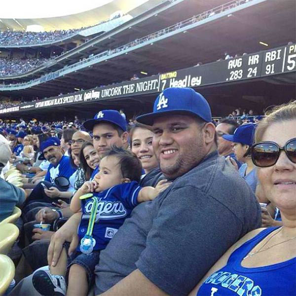 Show us your Dodger love! Post your fan photos on our ABC7 Facebook page, and you might be featured on-air. You can also send us your photos on Twitter or Instagram with #abc7dodgers. LET&#39;S GO DODGERS! <span class=meta>(KABC Photo &#47; Instagram.com&#47;crochetgirlrodriguez)</span>