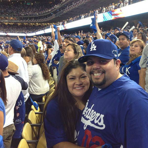 Show us your Dodger love! Post your fan photos on our ABC7 Facebook page, and you might be featured on-air. You can also send us your photos on Twitter or Instagram with #abc7dodgers. LET&#39;S GO DODGERS! <span class=meta>(KABC Photo &#47; Instagram.com&#47;dodgerfangirl)</span>
