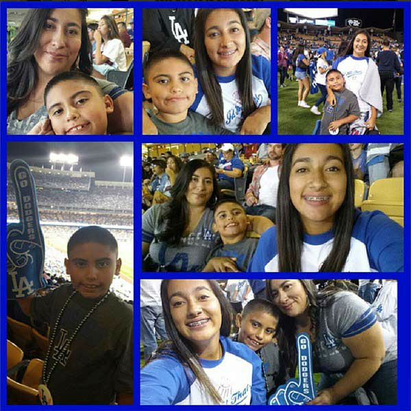 Show us your Dodger love! Post your fan photos on our ABC7 Facebook page, and you might be featured on-air. You can also send us your photos on Twitter or Instagram with #abc7dodgers. LET&#39;S GO DODGERS! <span class=meta>(KABC Photo &#47; Instagram.com&#47;eleanos85)</span>