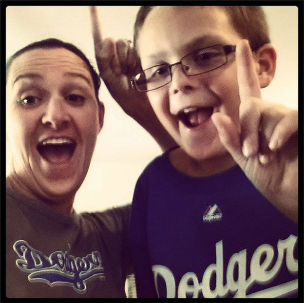 Show us your Dodger love! Post your fan photos on our ABC7 Facebook page, and you might be featured on-air. You can also send us your photos on Twitter or Instagram with #abc7dodgers. LET&#39;S GO DODGERS! <span class=meta>(KABC Photo &#47; Instagram.com&#47;kape15)</span>