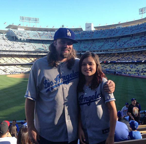 Show us your Dodger love! Post your fan photos on our ABC7 Facebook page, and you might be featured on-air. You can also send us your photos on Twitter or Instagram with #abc7dodgers. LET&#39;S GO DODGERS! <span class=meta>(KABC Photo &#47; Instagram.com&#47;lance_france)</span>