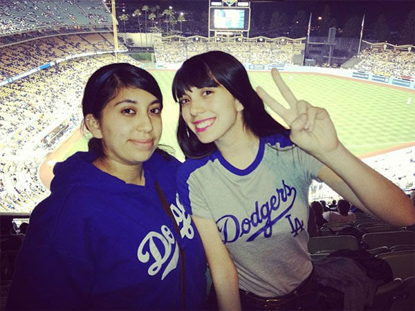 Show us your Dodger love! Post your fan photos on our ABC7 Facebook page, and you might be featured on-air. You can also send us your photos on Twitter or Instagram with #abc7dodgers. LET&#39;S GO DODGERS! <span class=meta>(KABC Photo &#47; Instagram.com&#47;nina_boo)</span>